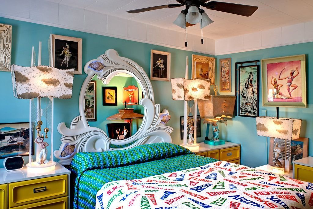 Best A Bedroom Filled With '50S Décor Photo Bruce Buck For With Pictures