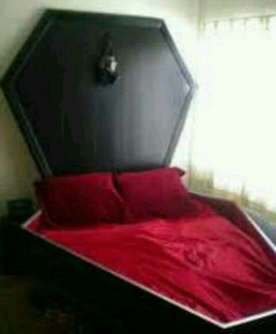 Best Coffin Bed For My Gothic Room Gothic Goals Pinterest With Pictures