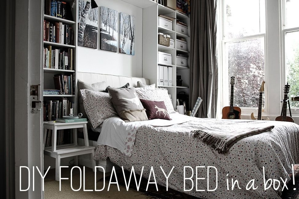 Best Diy Foldaway Bed In A Box Made With The Sofabed Mechanism With Pictures