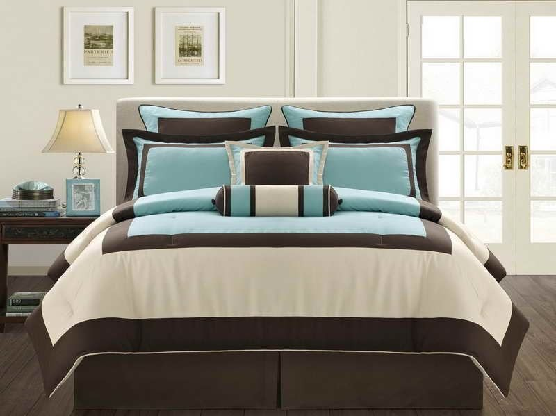 Best Interior Turquoise And Brown Kids Bedroom Decorating With Pictures
