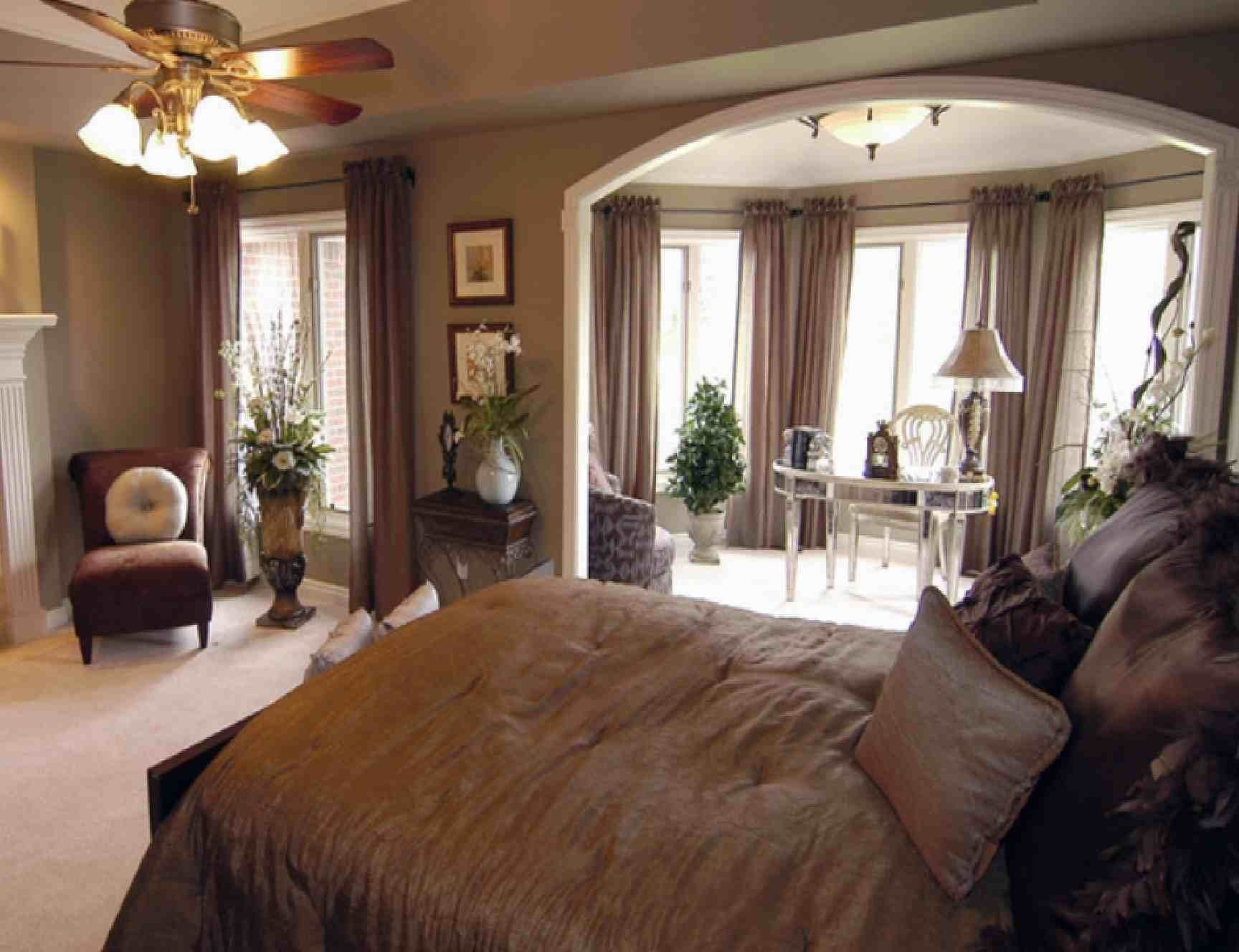 Best Beautiful Luxury Bedroom Ideas With Brown Furniture Modern With Pictures