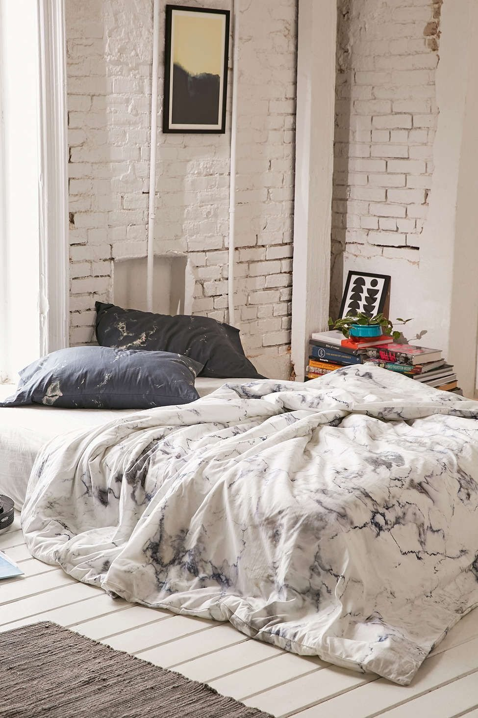 Best Assembly Home Marble Duvet Cover Awesome Stuff Spaces With Pictures