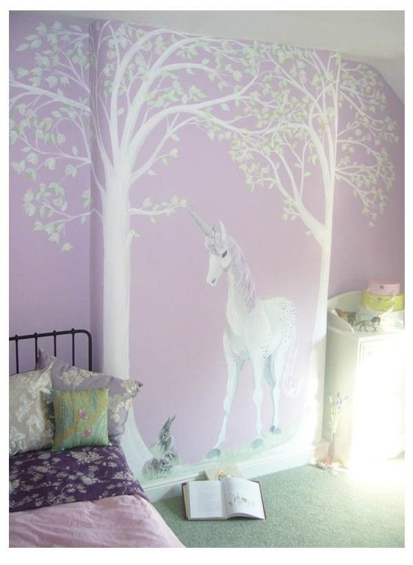 Best Finished Unicorn Mural Murals For Kids Rooms Pinterest With Pictures