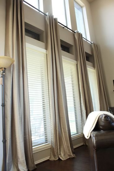 Best Tall Window Curtains On Pinterest Picture Window With Pictures