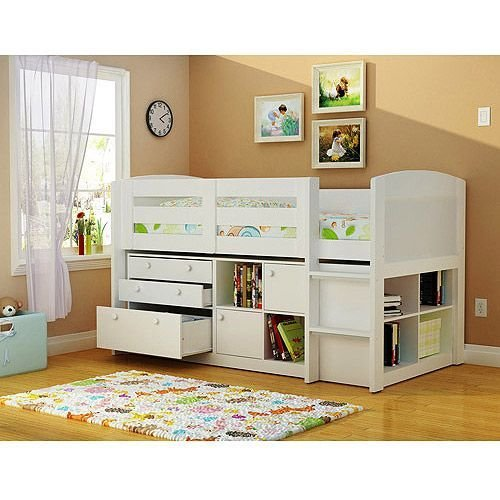 Best Georgetown Storage Loft Bed White Bedroom Pinterest With Pictures