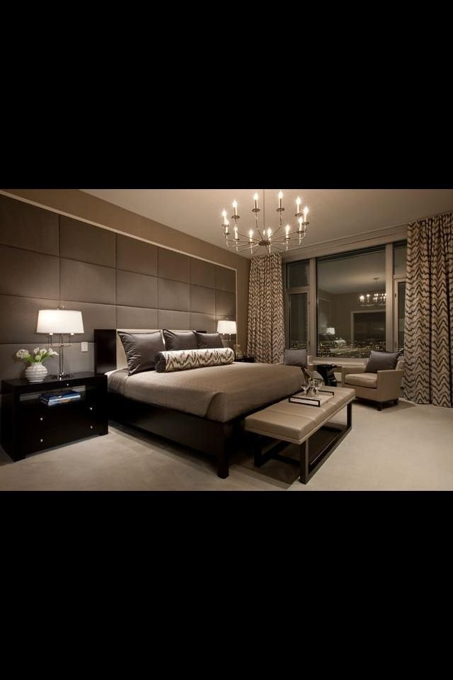 Best Modern Bedroom Love It Love How The Focus Wall Is The With Pictures