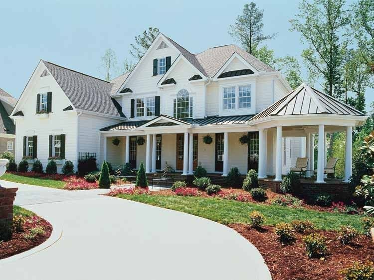 Best Farmhouse House Plan With 4464 Square Feet And 5 Bedrooms With Pictures