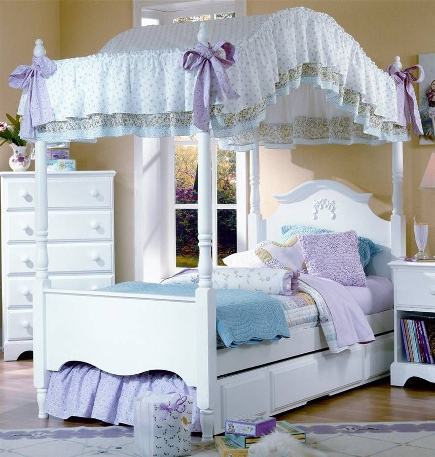 Best Is This Nice Choose For Girls' Room Girls Canopy Bed With Pictures