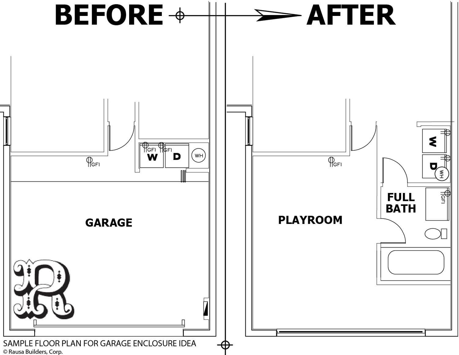 Best Sample Garage Conversion With Bathroom And Washer Dryer With Pictures