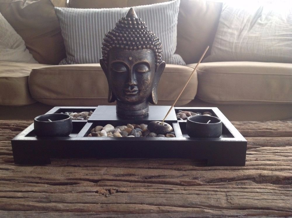 Best Decor Tea Light Candle Zen Garden Buddha Decoration Feng With Pictures