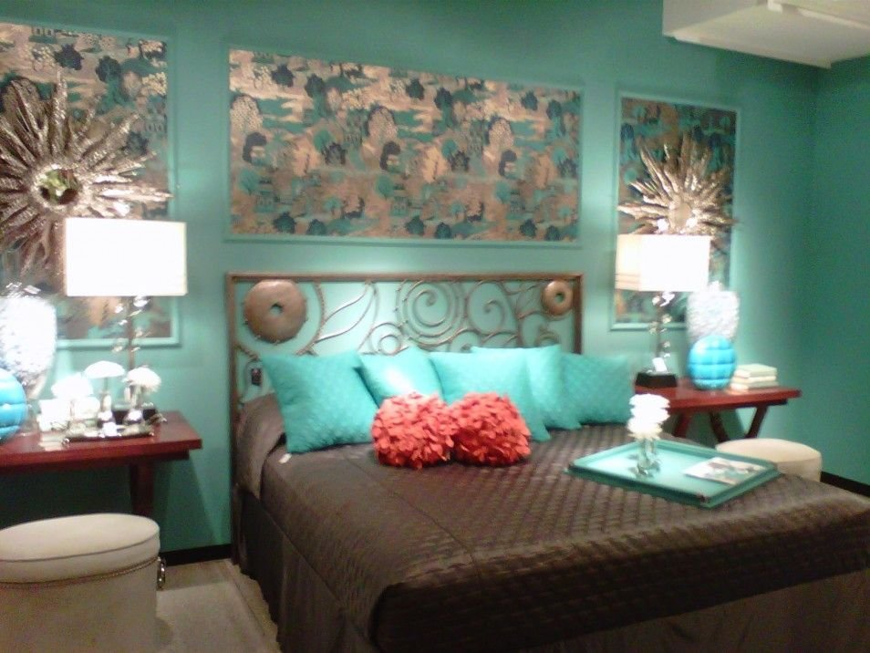 Best Green And Brown Bedroom Turquoise And Brown Bedroom The With Pictures