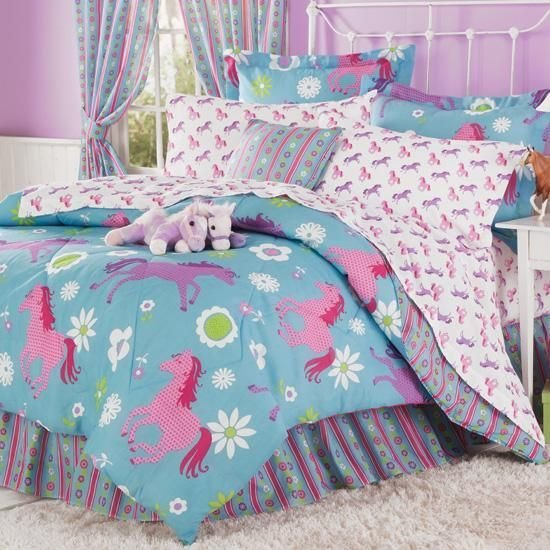 Best Girls Horse Bedding Room Pinterest Dormitorios With Pictures
