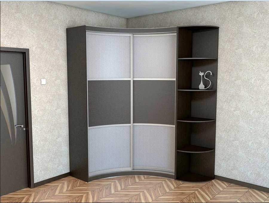 Best Corner Wardrobe Closet And Corner Shelves Design For Small With Pictures