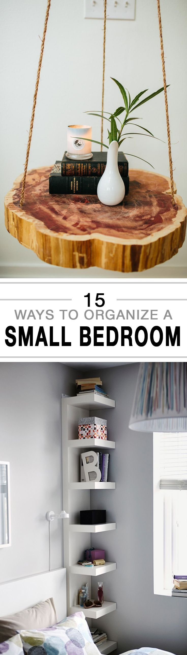 Best 15 Ways To Organize A Small Bedroom Organizing Bedrooms With Pictures