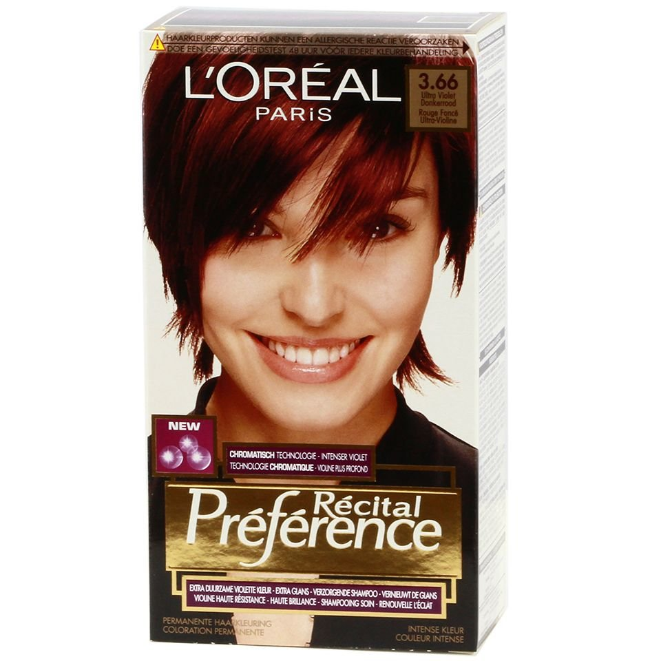 Free L Oreal Recital Preference 3 66 Ultra Violet Dark Red Wallpaper