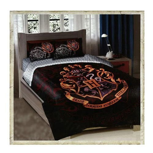 Best This Is Sooo Cool Hogwarts Crest Twin Full Size Comforter Bedding Set Harry Potter Fans With Pictures