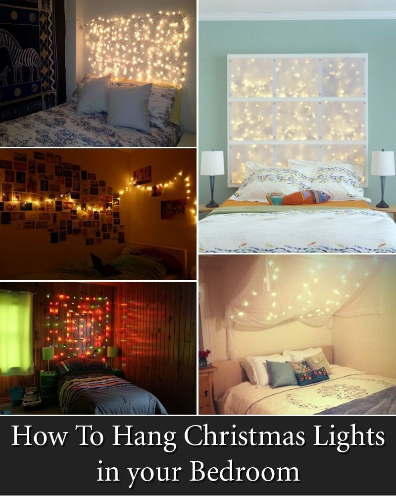 Best 12 Cool Ways To Put Up Christmas Lights In Your Bedroom With Pictures