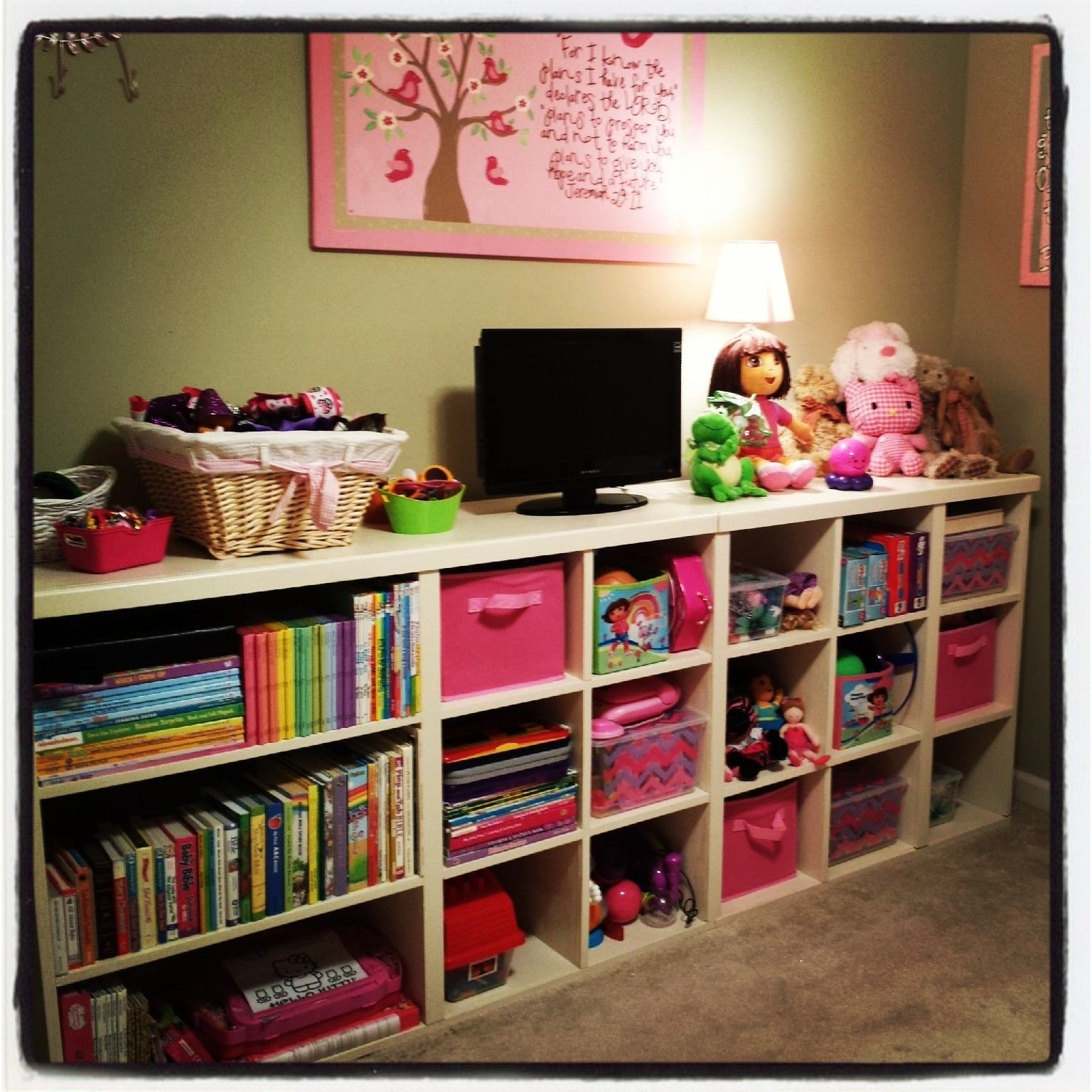 Best My Husband Built This Shelving Unit For Our 4 Year Old S With Pictures