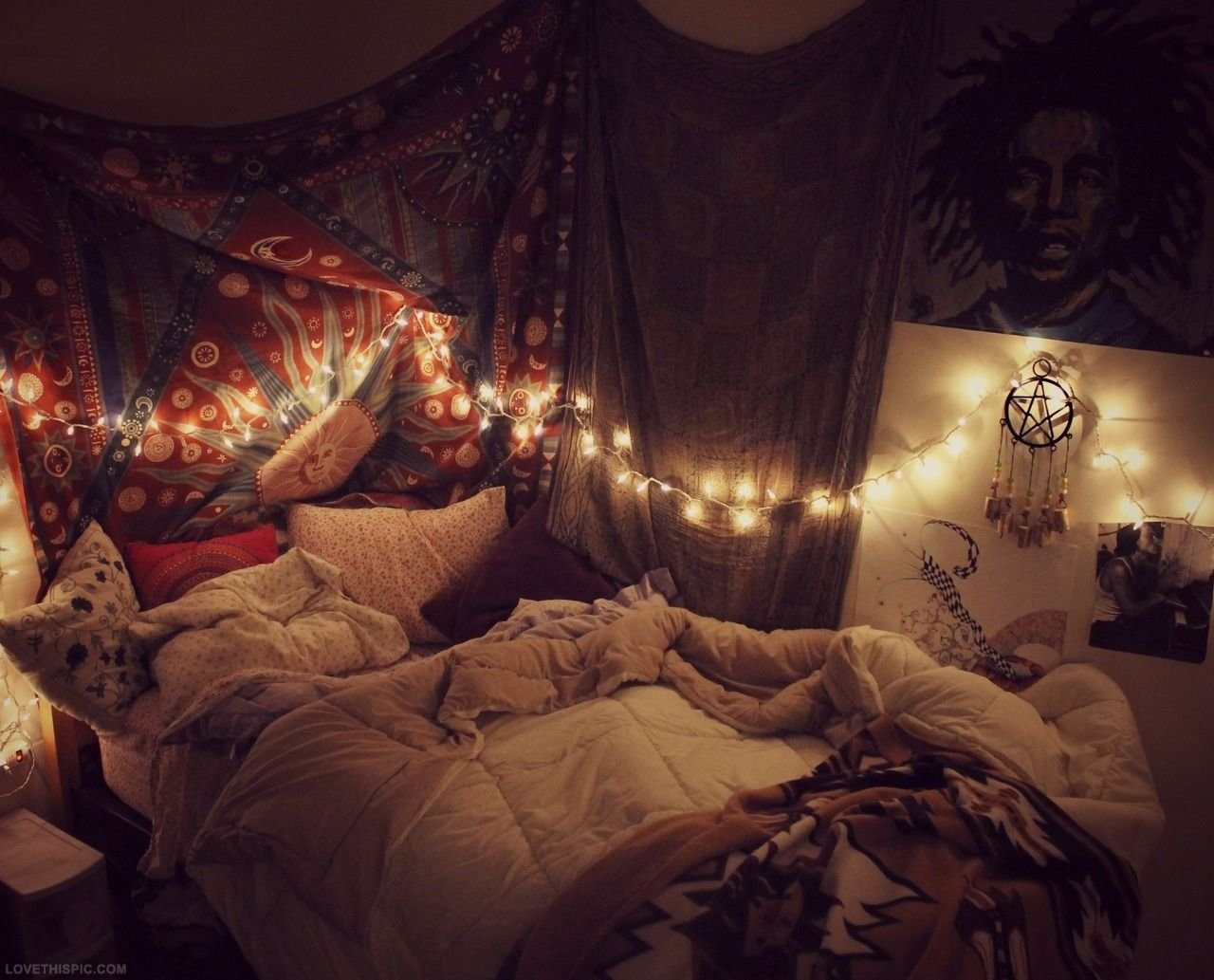 Best Diy Indie Bedroom Decor Wallpaper Tumblr Hipster Bedrooms With Pictures
