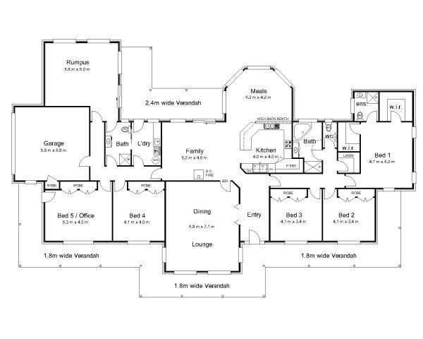 Best The Bourke « Australian House Plans House Plans With Pictures