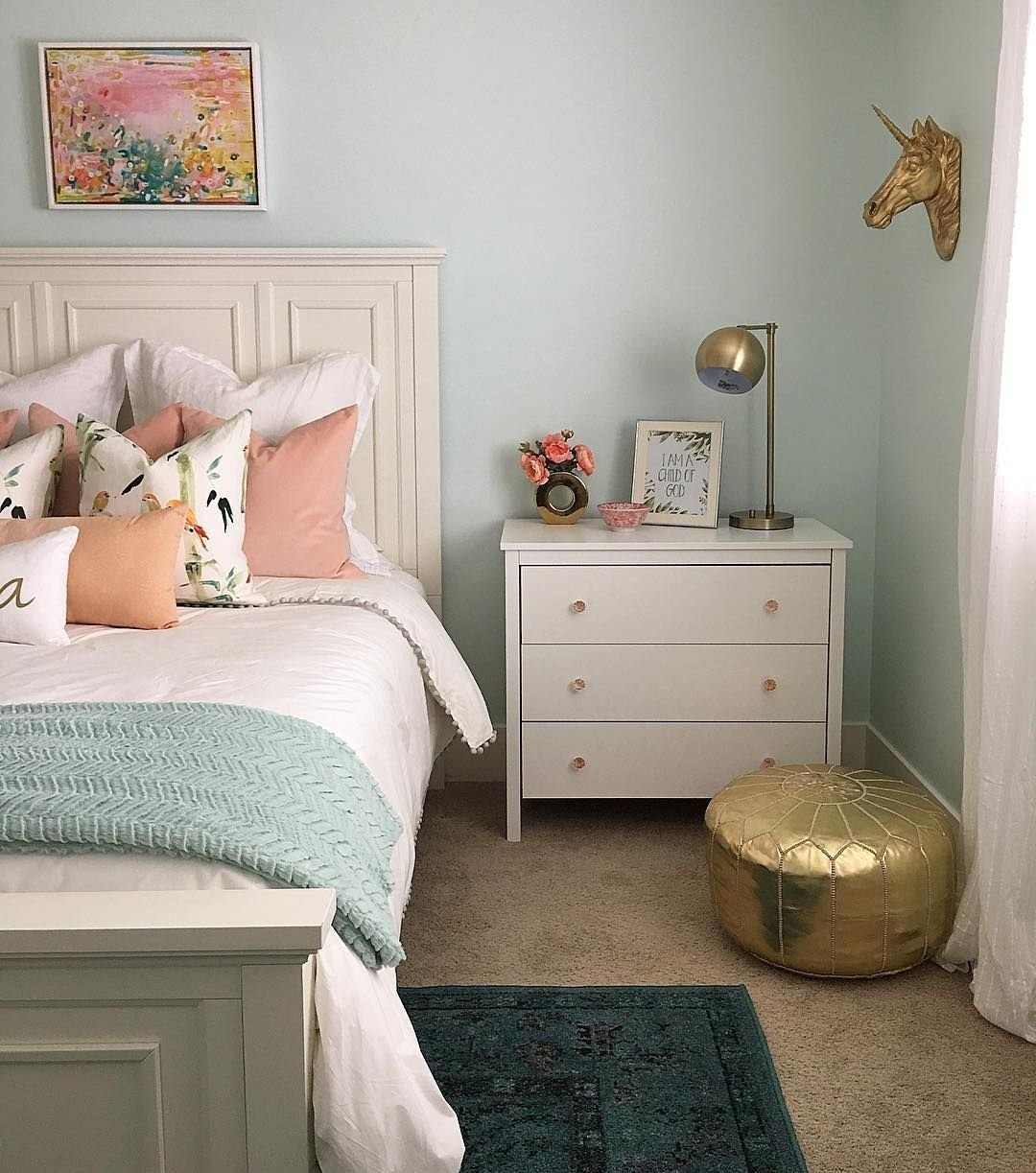 Best ️Wall Color Is Embellished Blue By Sherwin Williams Mixed At 50 Paint Colors Blue With Pictures