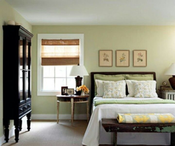 Best Bedroom Green Walls Light Green Bedroom Wall Color My Home Favorite Things Pinterest With Pictures
