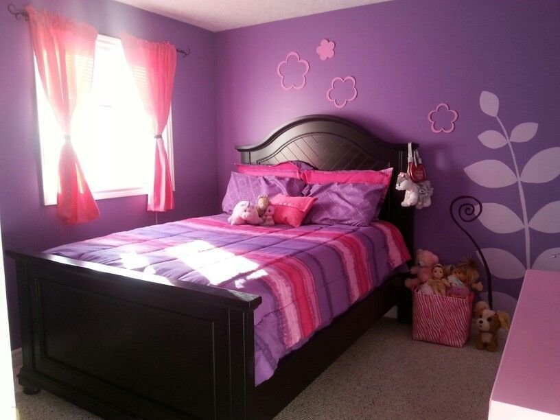 Best Pink And Purple Girls Room My Home Pinterest Room Girls And Bedrooms With Pictures