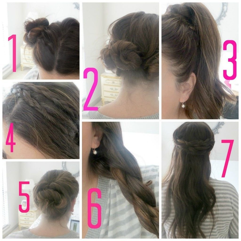 Free Easy Hairstyles For School For Teenage Girls Step By Step Wallpaper