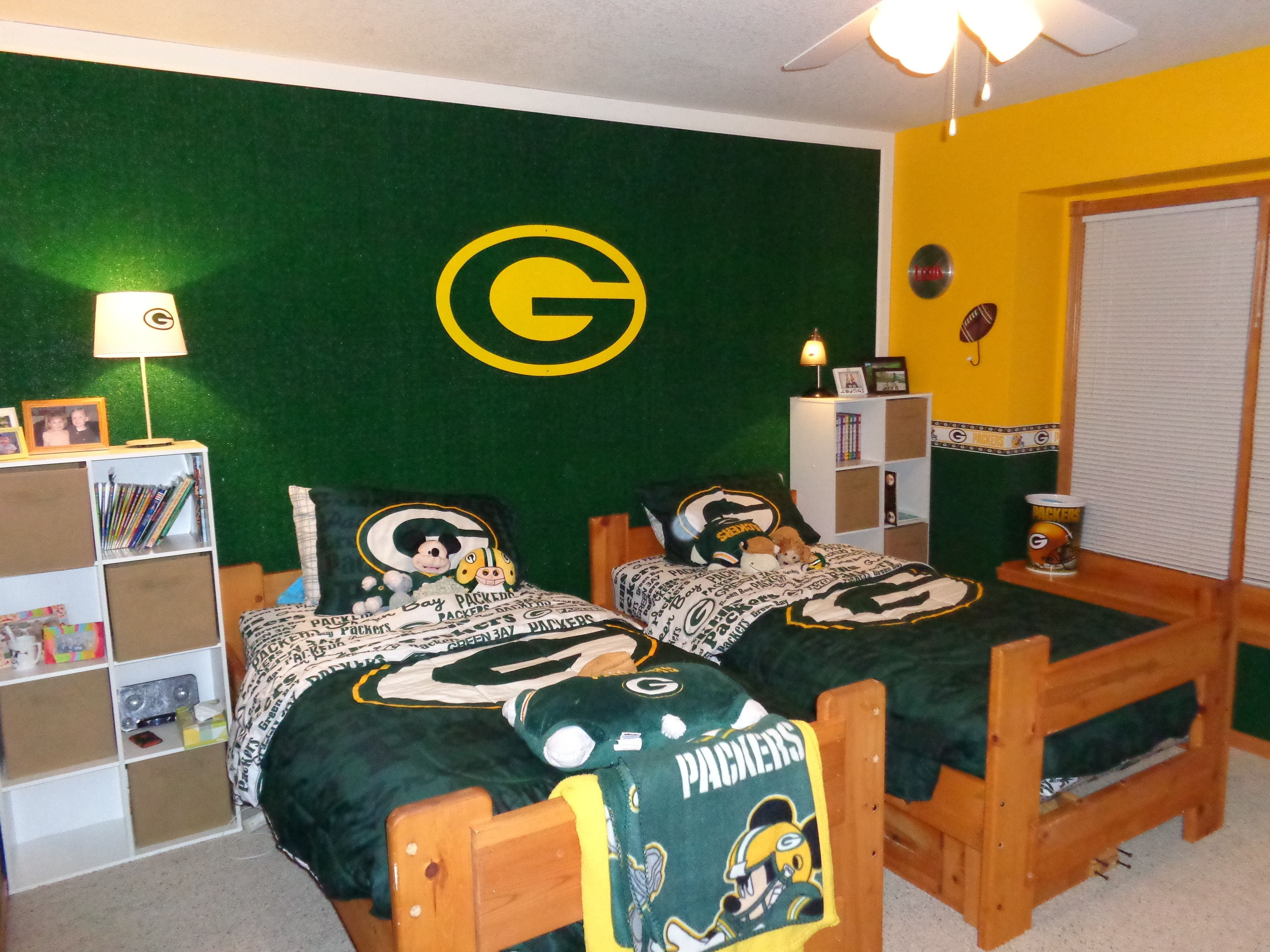 Best Green Bay Packers Bedroom Home Pinterest Packers With Pictures