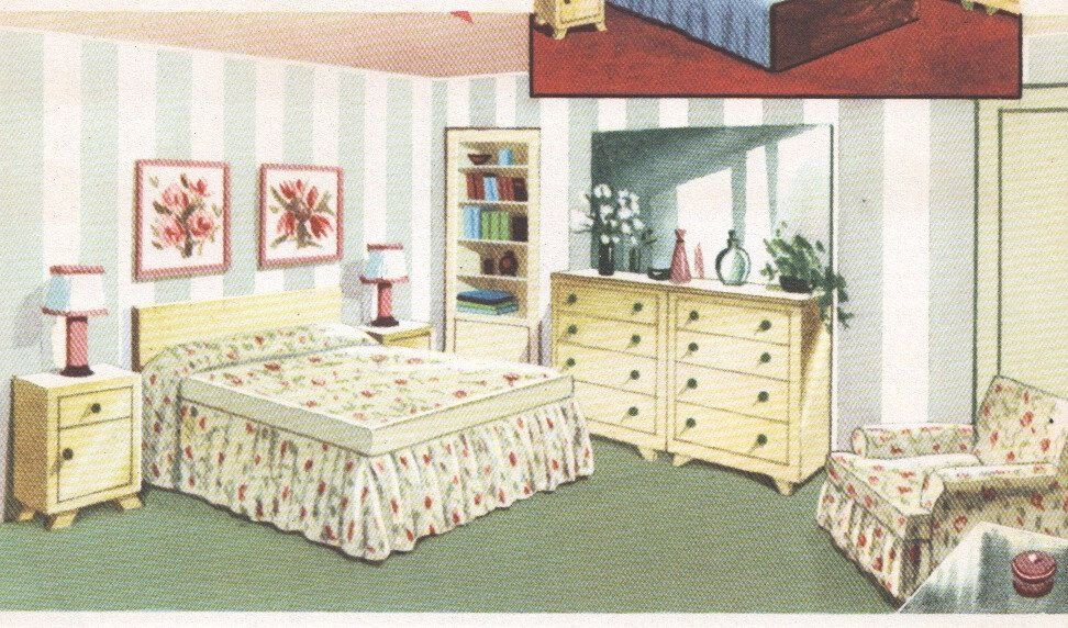 Best 1950S Bedroom Decor Mid Century House Interior Design With Pictures