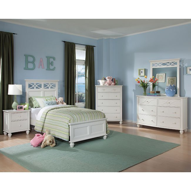 Best Sanibel Youth Bedroom Set White By Homelegance 1 Review With Pictures
