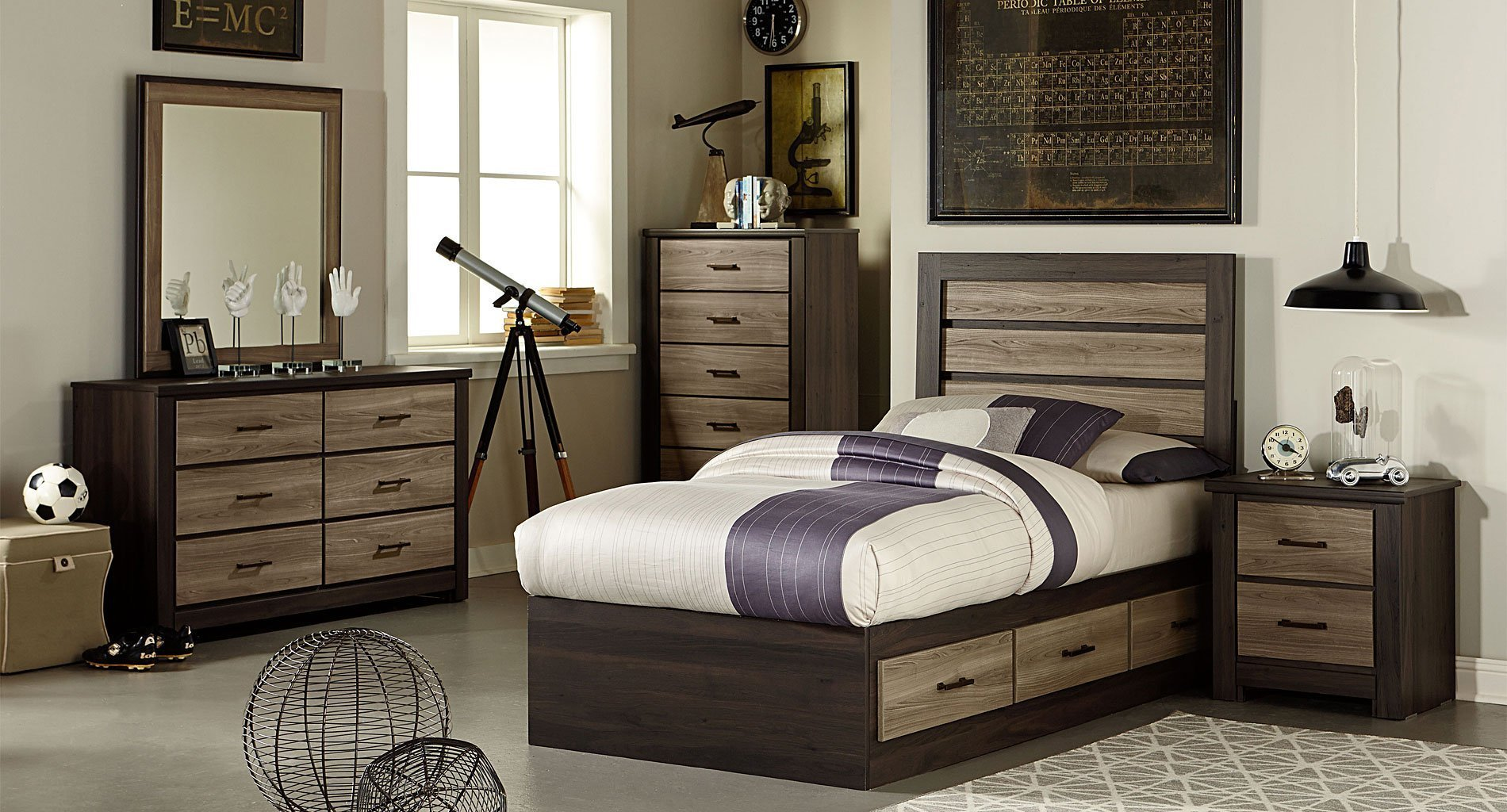 Best Oakland Captains Bedroom Set By Standard Furniture With Pictures