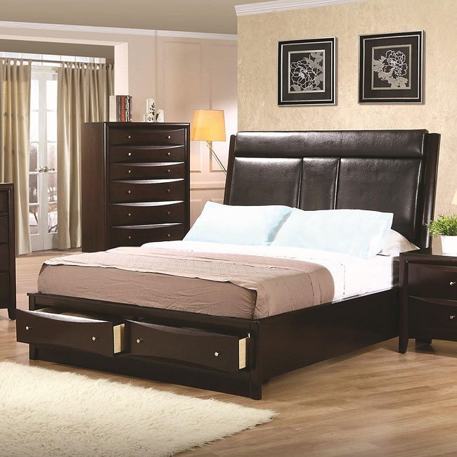 Best Phoenix Storage Bedroom Set By Coaster Furniture With Pictures