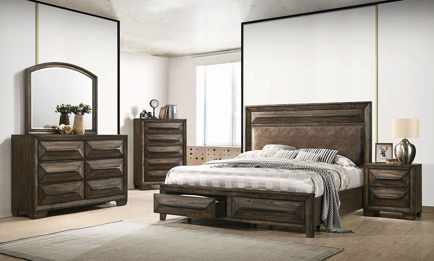 Best Preston Storage Bedroom Set Coaster Furniture Furniture Cart With Pictures