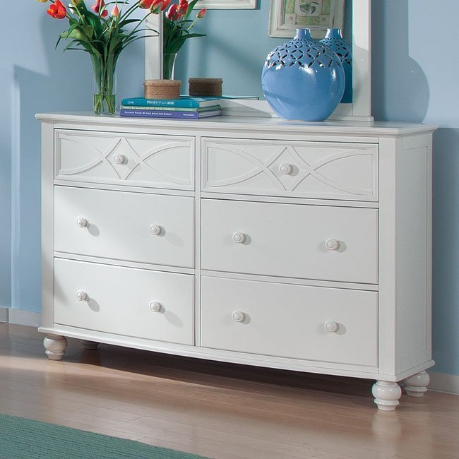 Best Sanibel Youth Bedroom Set White Homelegance Furniture Cart With Pictures