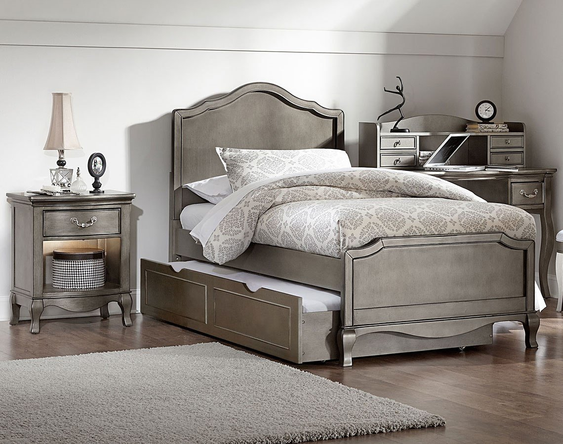 Best Kensington Charlotte Youth Panel Bedroom Set W Trundle With Pictures