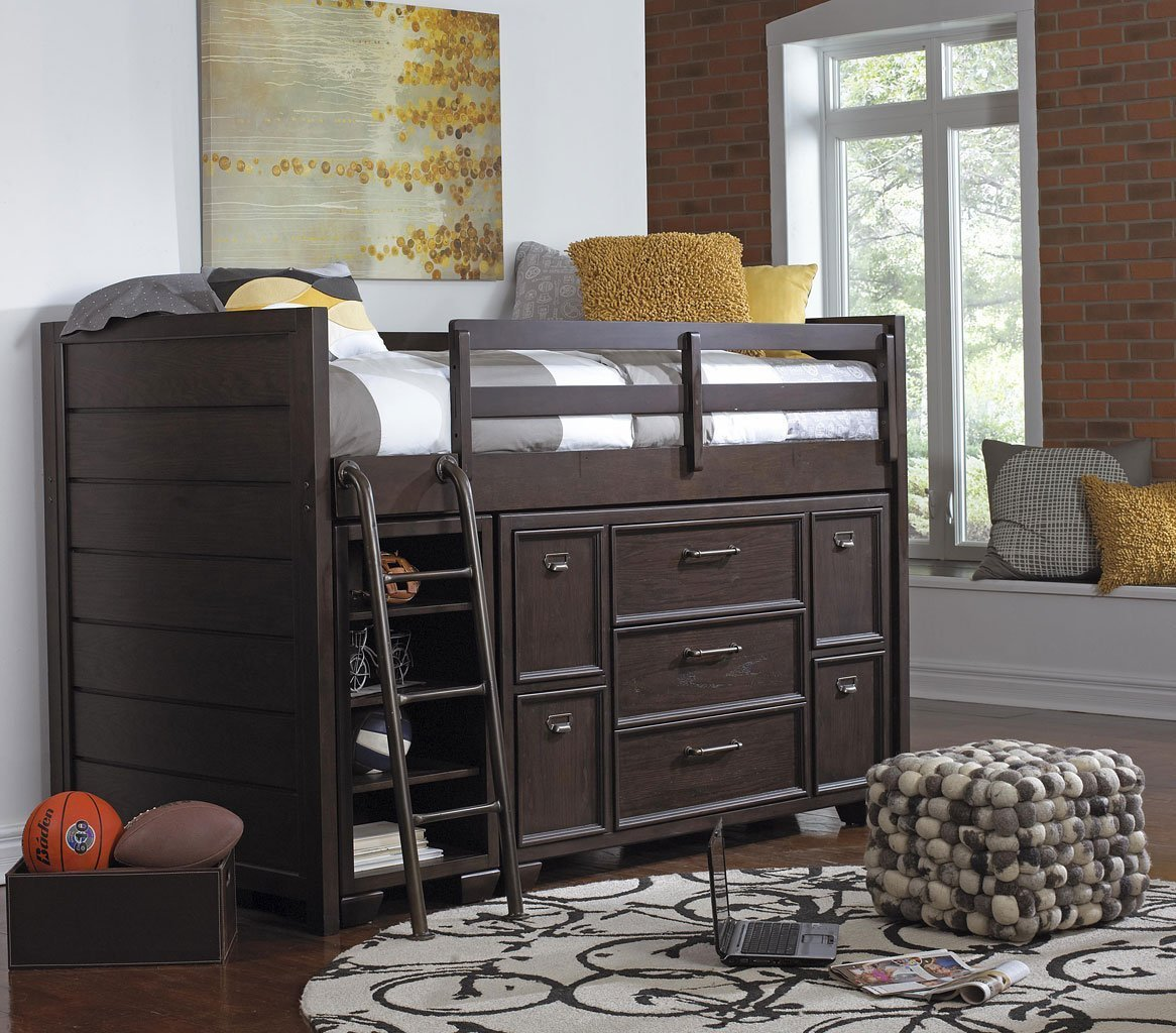 Best Clubhouse Twin Loft Bedroom Set Samuel Lawrence Furniture With Pictures