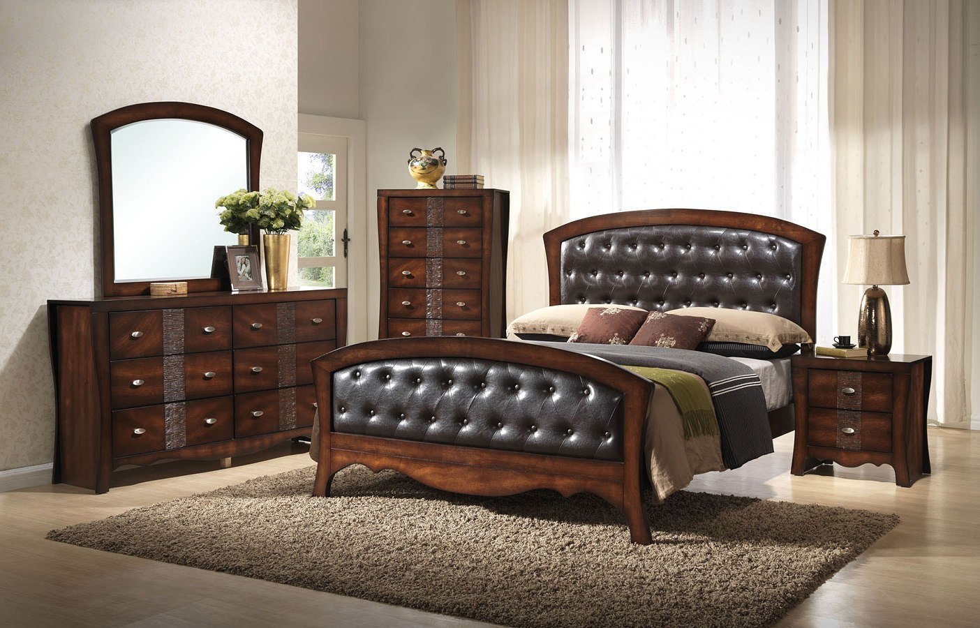 Best Jenny Panel Bedroom Set Elements Furniture Furniture Cart With Pictures