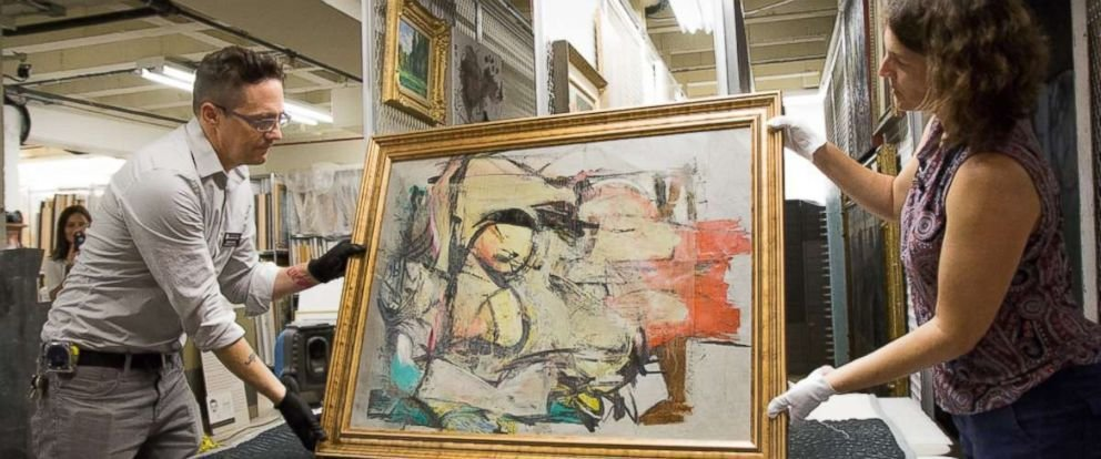 Best Stolen Painting Worth Estimated 160M Found Behind Bedroom With Pictures
