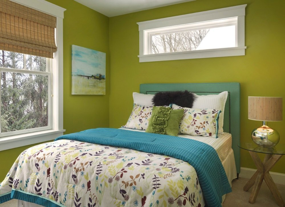 Best Green Bedroom Paint Colors For Small Spaces 7 To Try With Pictures