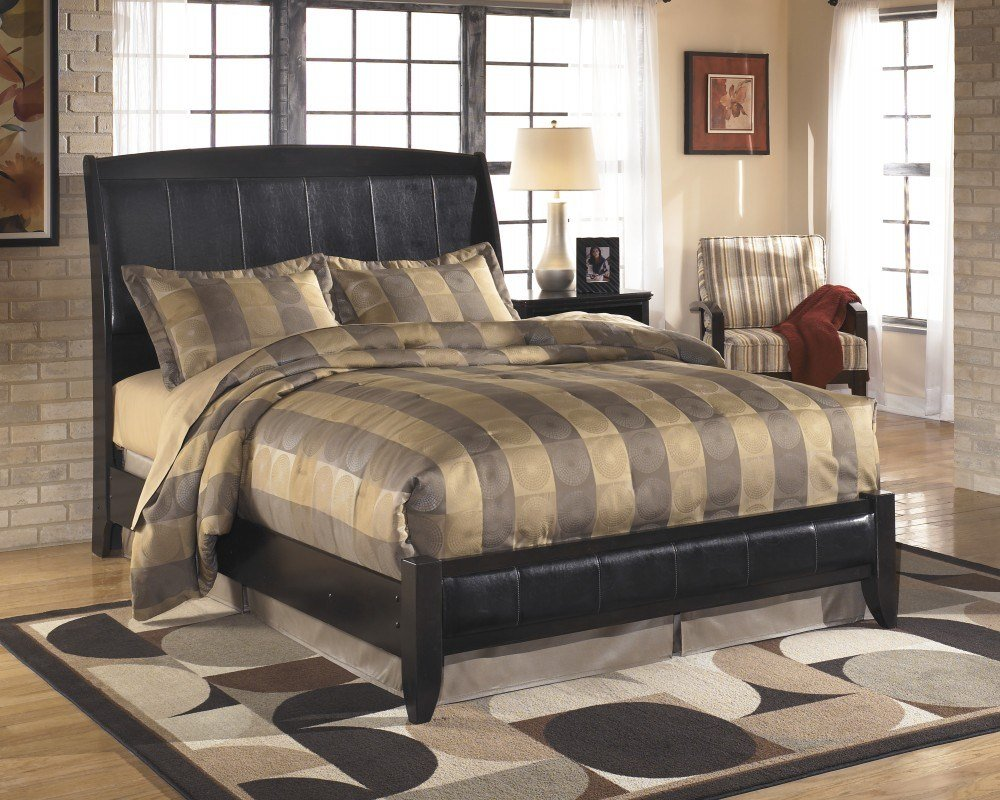 Best Harmony Queen Platform Style Bed B208 74 77 Complete With Pictures