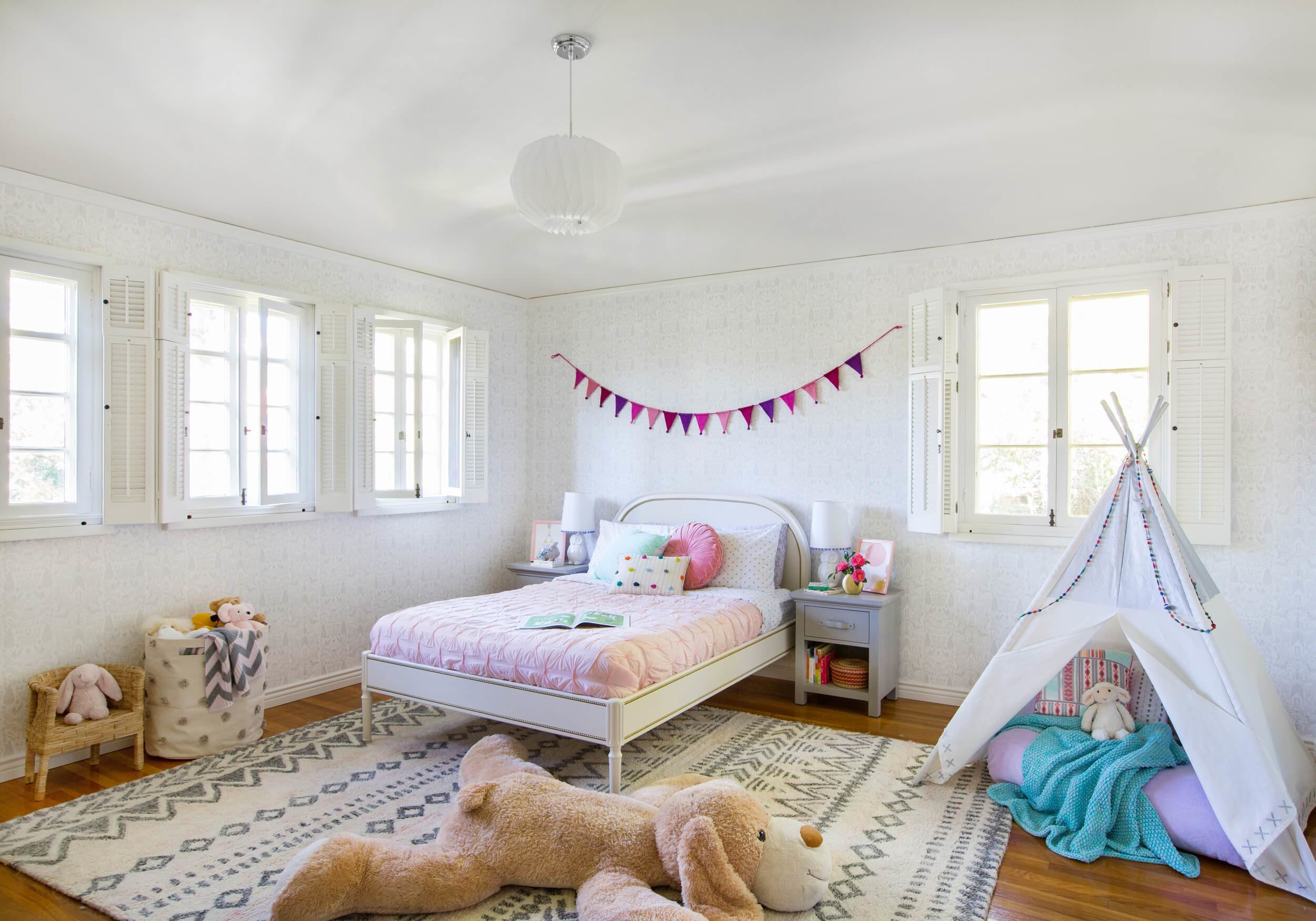 Best Little Girl S Playful Bedroom Reveal Emily Henderson With Pictures
