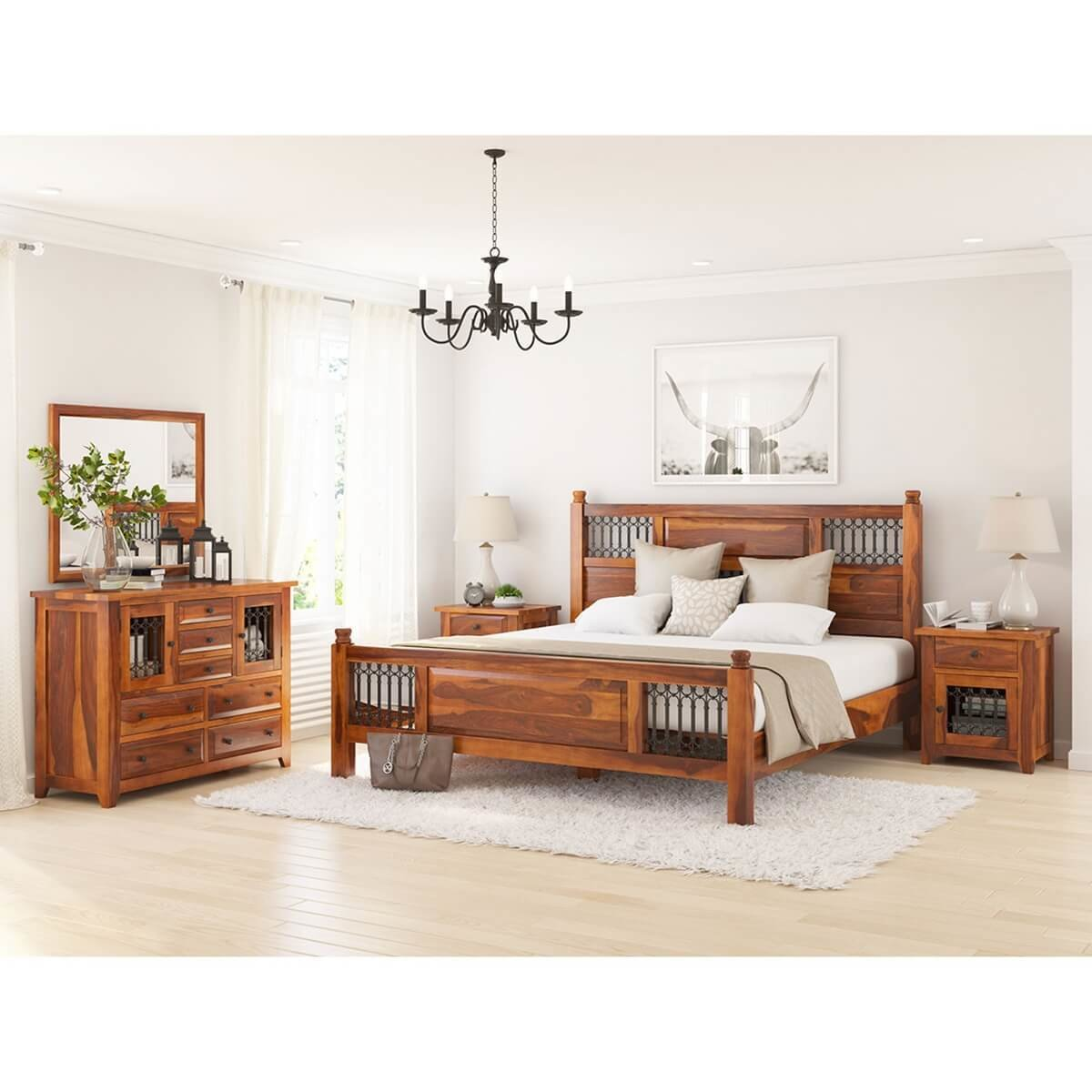 Best San Francisco 5 Piece Full Size Bedroom Set With Pictures