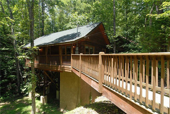 Best Pigeon Forge Cabin Creekside Paradise 1 Bedroom Sleeps 4 With Pictures