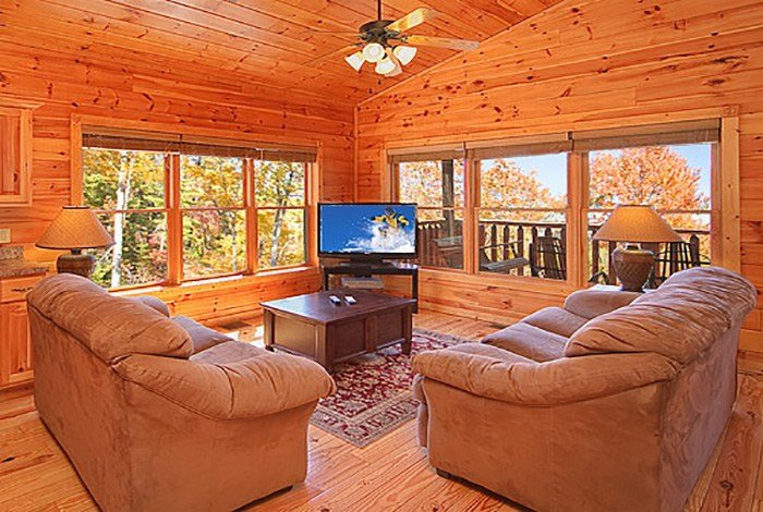 Best Gatlinburg Cabin Satin Sheets 1 Bedroom Sleeps 9 With Pictures