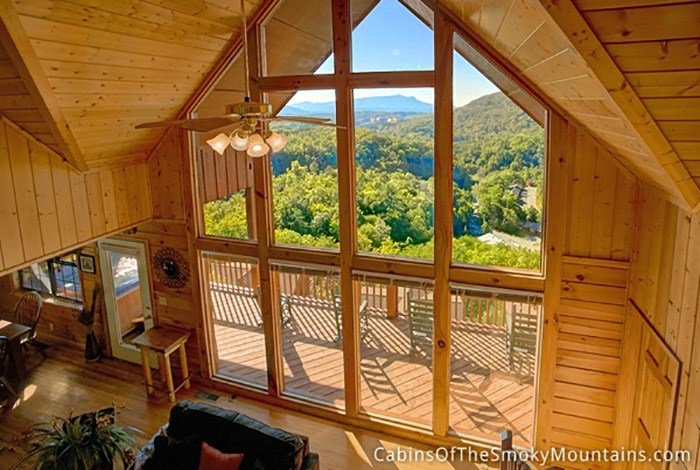 Best Pigeon Forge Cabin Heavenly View 5 Bedroom Sleeps 12 With Pictures