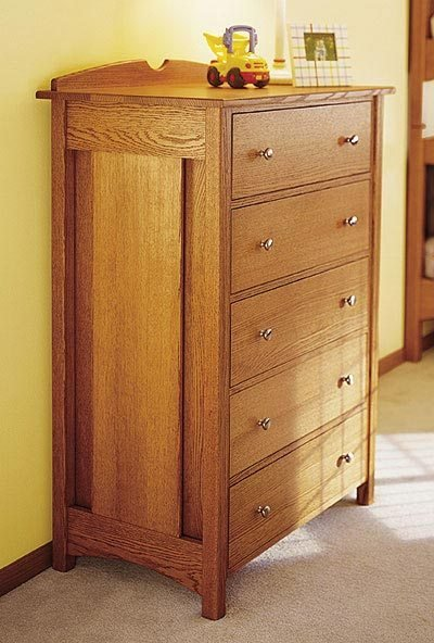 Best Kid S Oak Dresser Woodworking Plan From Wood Magazine With Pictures