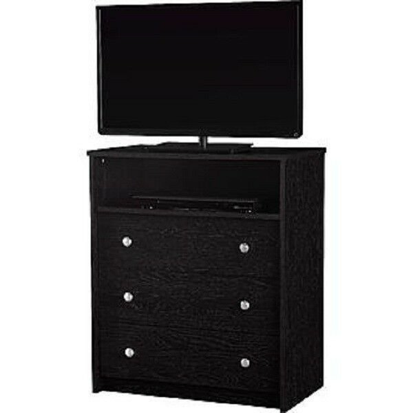 Best 5681026Kp Essential Home Bedroom Tv Stand 3 Drawer Dresser With Pictures