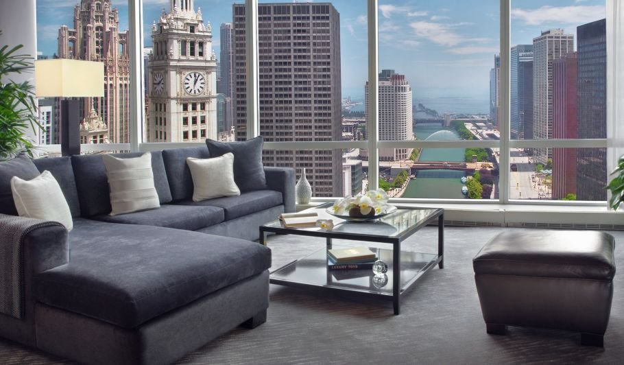Best 2 Bedroom Suites In Chicago Trump Chicago Signature With Pictures