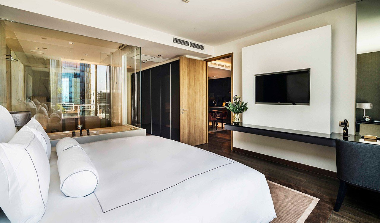 Best Deluxe Two Bedroom Suites Large Balcony Akyra Thonglor With Pictures